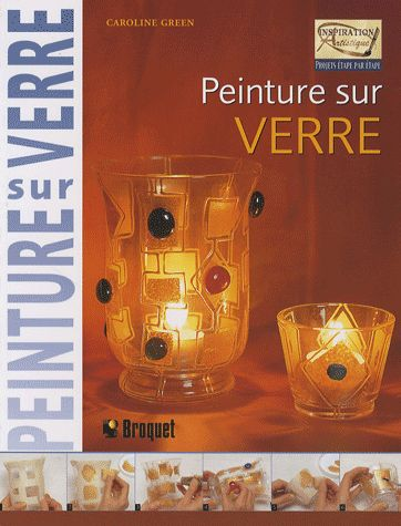 Livre mod le pour vitrail tiffany - Peinture sur plateau en verre ...